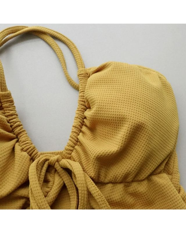 Bodysuit cột nơ xinh HB06