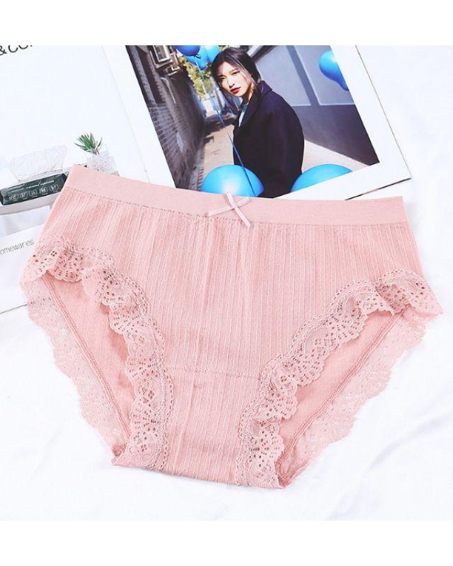 Set quần lót tơ tầm mềm mại co giản tốt