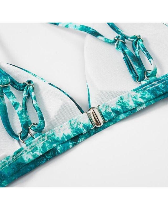 Set bikini loang màu thời trang HB17
