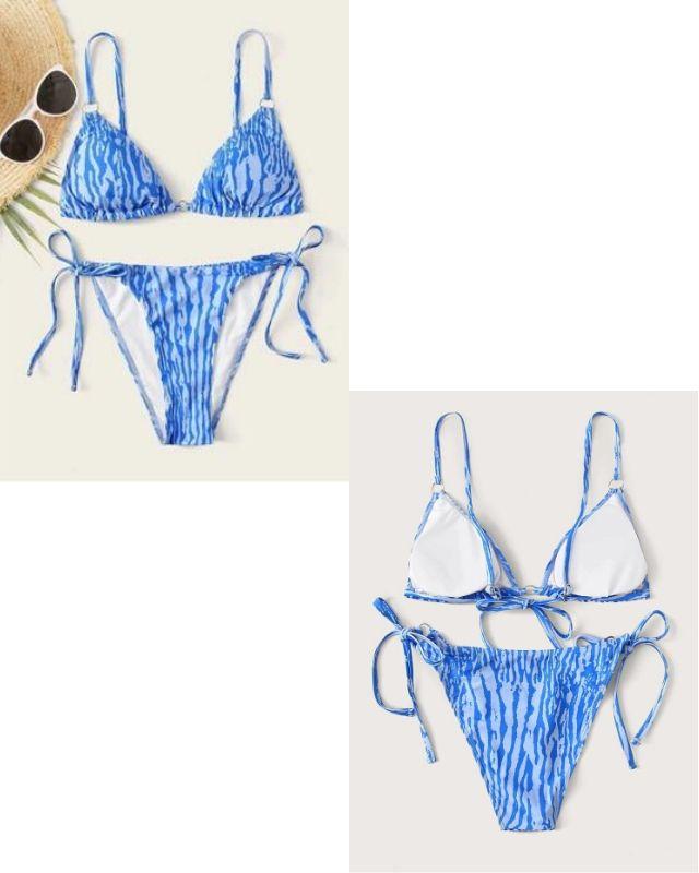 Set bikini vằn HB22