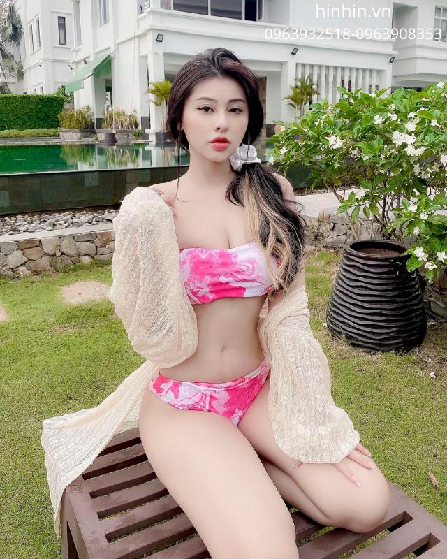 Set bikini loang màu thời trang HB24