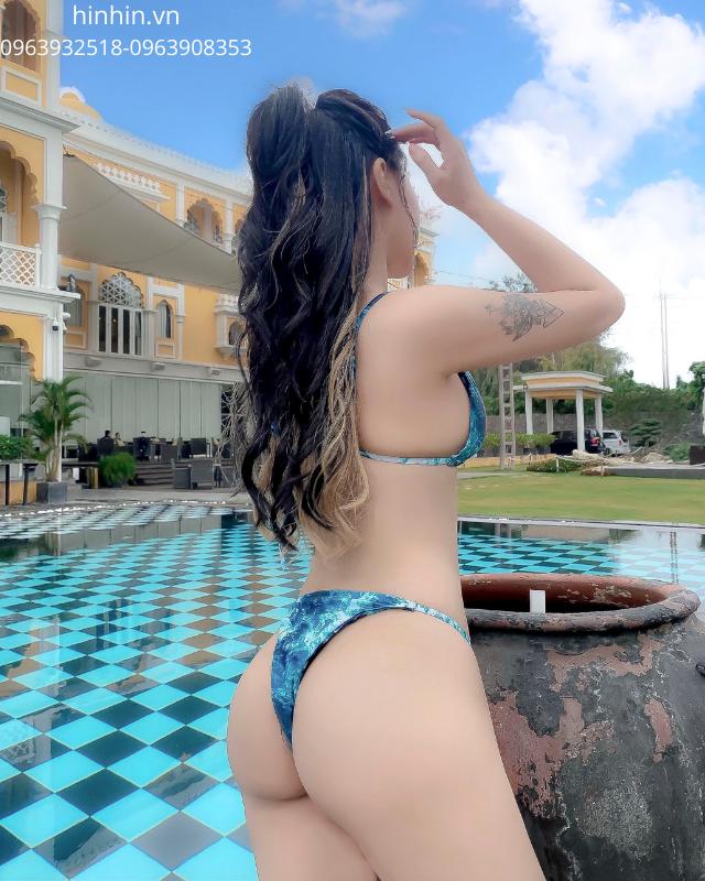 Set bikini loang màu HB26