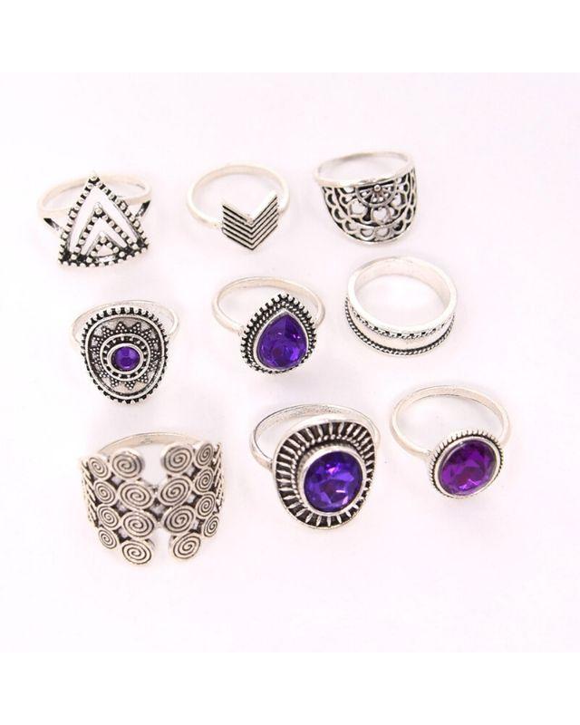 Set nhẫn thời trang HNH18